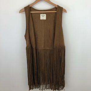 Abercrombie & Fitch Fringe Vest